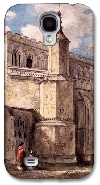 East Bergholt Church, Northside Galaxy S4 Case by John Constable
