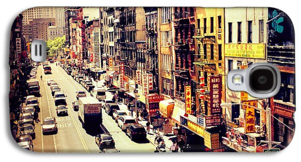 East Broadway - Chinatown - New York City Galaxy S4 Case by Vivienne Gucwa