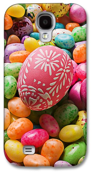 Easter Egg And Jellybeans  Galaxy S4 Case by Garry Gay