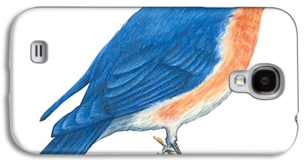 Eastern Bluebird Galaxy S4 Case by Anonymous