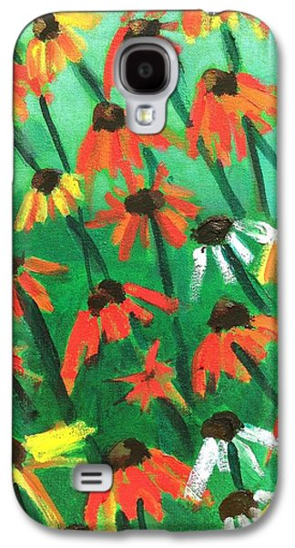Echinacea Galaxy S4 Case by Kendall Wishnick Adams