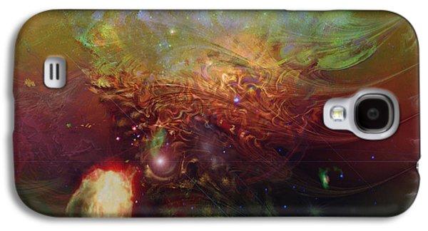 Echoes Galaxy S4 Case by Linda Sannuti
