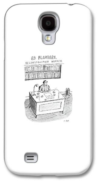 Ed Flanders Galaxy S4 Case
