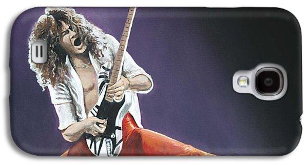 Eddie Van Halen Galaxy S4 Case by Tom Carlton