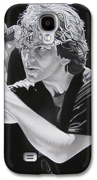 Pearl Jam Galaxy S4 Case - Eddie Vedder  by Joshua Morton