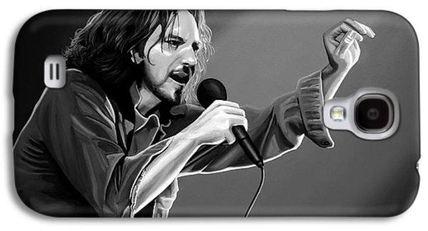 Eddie Vedder  Galaxy S4 Case by Meijering Manupix