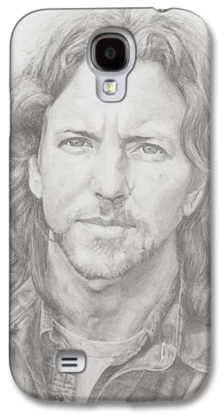 Eddie Vedder Galaxy S4 Case by Olivia Schiermeyer