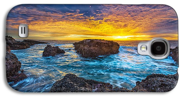 Edge Of North America Galaxy S4 Case by Robert Bynum