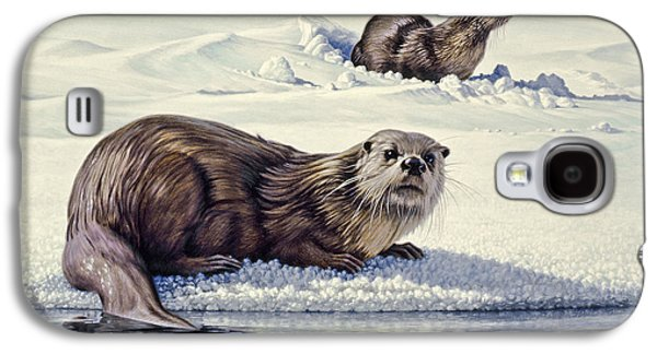 Edge Of The Lake Galaxy S4 Case by Paul Krapf