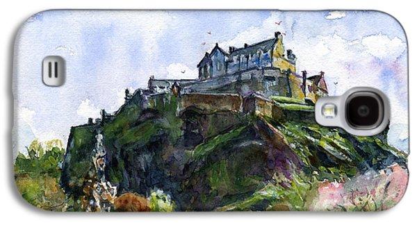 Scotland Galaxy S4 Case - Edinburgh Castle Scotland by John D Benson