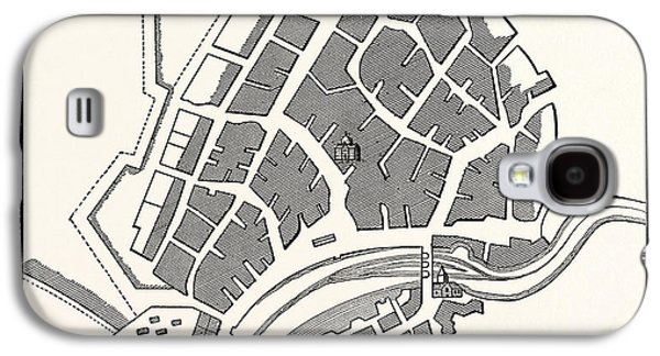 Edinburgh Plan Of Leith Showing The Eastern Fortifications Galaxy S4 Case