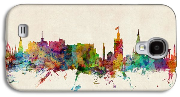 Edinburgh Scotland Skyline Galaxy S4 Case