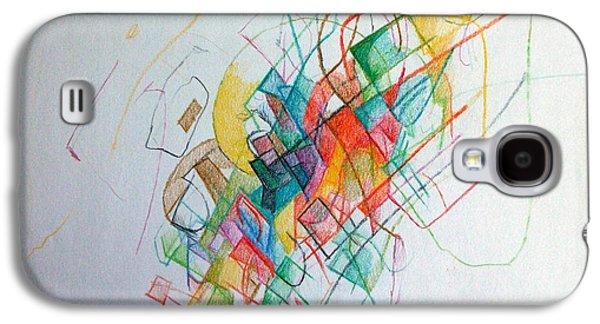 Education 1 Galaxy S4 Case by David Baruch Wolk