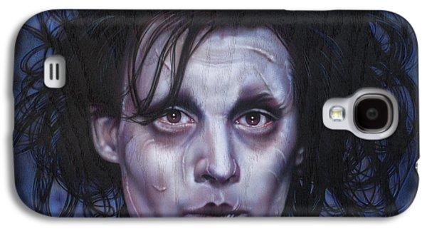 Edward Scissorhands Galaxy S4 Case