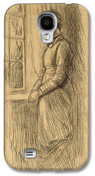 Edwin Austin Abbey, Solitude Miss Vesta Rollinstall Galaxy S4 Case