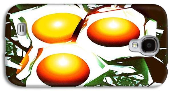 Eggs For Breakfast Galaxy S4 Case by Anastasiya Malakhova