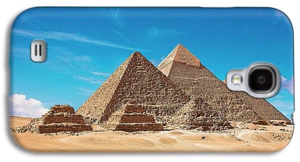 Egypt, Cairo, Giza, View Of All Three Galaxy S4 Case