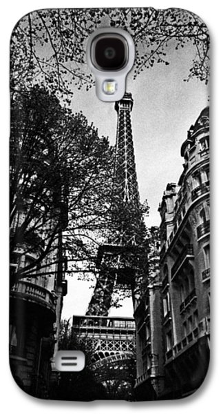 Eiffel Tower Black And White Galaxy S4 Case