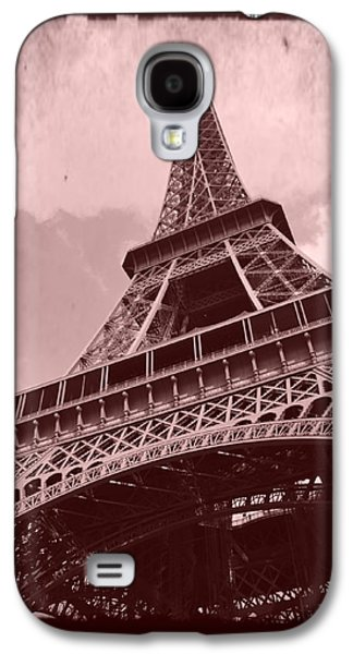 Eiffel Tower - Old Style Galaxy S4 Case