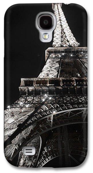 Eiffel Tower Paris France Night Lights Galaxy S4 Case