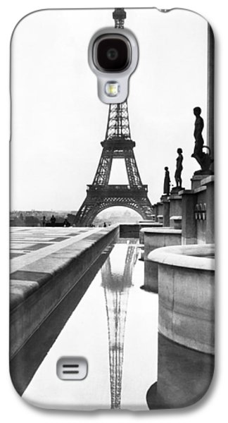 Eiffel Tower Reflection Galaxy S4 Case by Underwood Archives