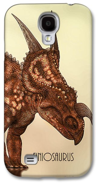 Einiosaurus Galaxy S4 Case by Bob Orsillo