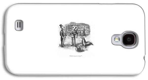 Either Galaxy S4 Case by William Steig