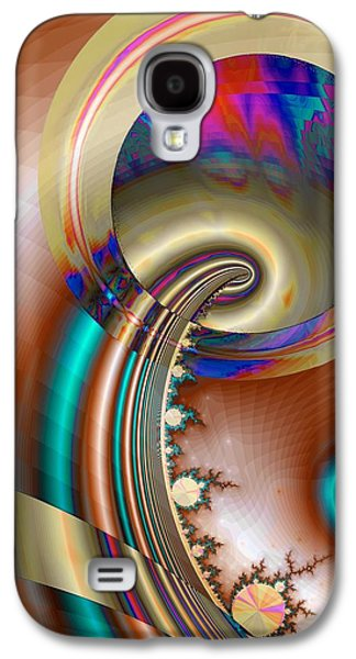 Electric Blue Galaxy S4 Case
