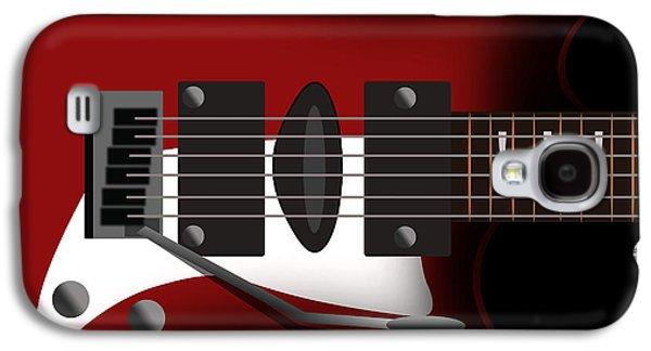 Electric Guitar Galaxy S4 Case
