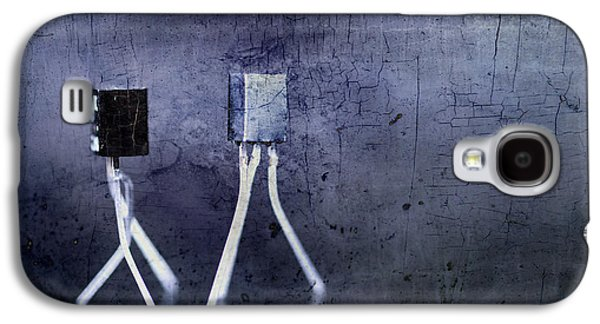 Electrical Circuits In Blue Tone Galaxy S4 Case by Tommytechno Sweden