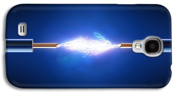 Electric Current / Energy / Transfer Galaxy S4 Case