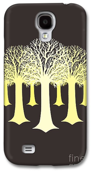 Electricitrees Galaxy S4 Case by Freshinkstain