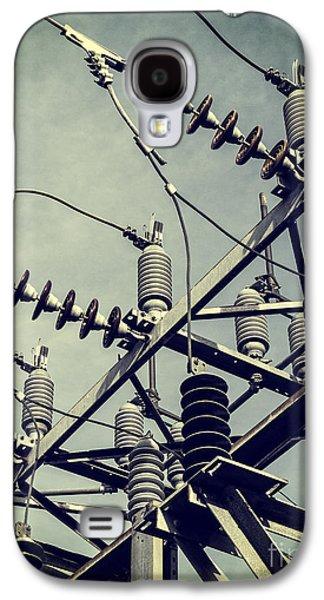 Electricity Galaxy S4 Case by Edward Fielding