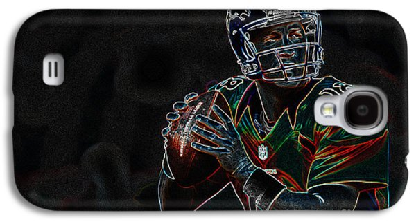 Electrifying Peyton Manning Galaxy S4 Case by Marvin Blaine