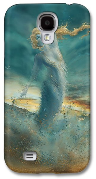 Elements - Wind Galaxy S4 Case by Cassiopeia Art