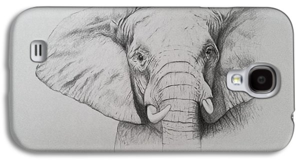 Elephant Galaxy S4 Case by Ele Grafton