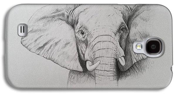 Elephant Galaxy S4 Case by Ele Grafton