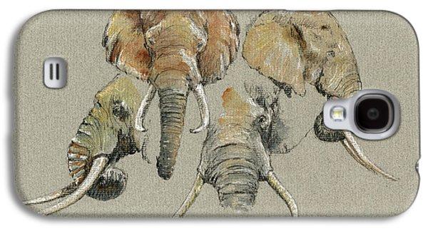 Elephant Heads Galaxy S4 Case