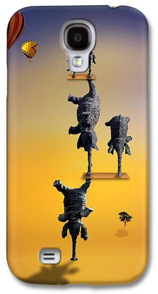 Elephant Life 2 Galaxy S4 Case by Mark Ashkenazi