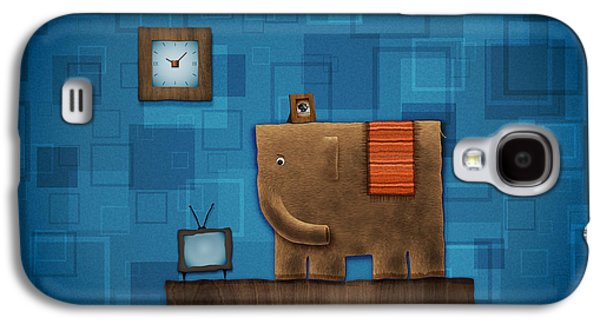 Elephant On The Wall Galaxy S4 Case by Gianfranco Weiss