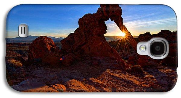 Elephant Sunrise Galaxy S4 Case