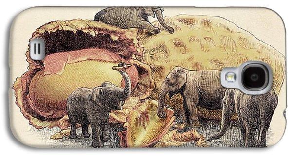 Elephant's Paradise Galaxy S4 Case by Eric Fan