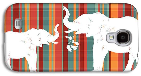 Elephants Share Galaxy S4 Case