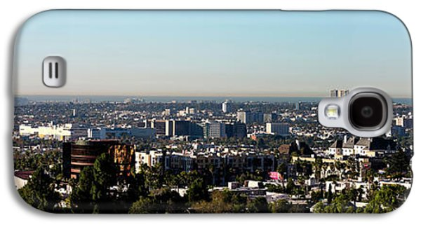 Elevated View Of City, Los Angeles Galaxy S4 Case by Panoramic Images