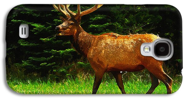 Elk Portrait Galaxy S4 Case