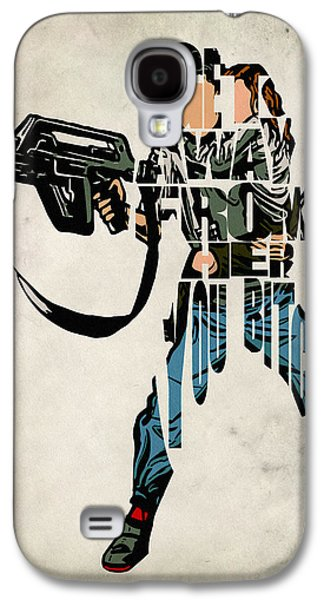 Ellen Ripley From Alien Galaxy S4 Case by Ayse Deniz