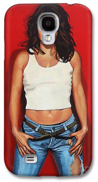 Ellen Ten Damme Painting Galaxy S4 Case by Paul Meijering