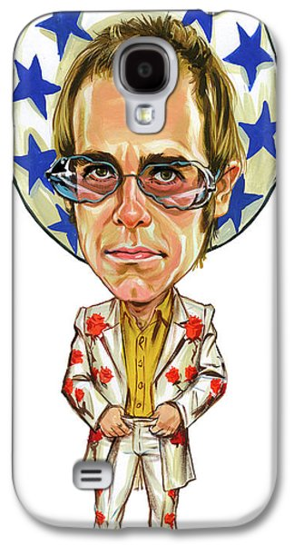 Elton John Galaxy S4 Case by Art