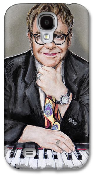 Elton John Galaxy S4 Case by Melanie D