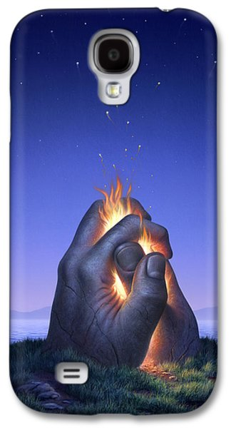 Embers Turn To Stars Galaxy S4 Case by Jerry LoFaro